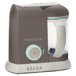 Beaba - Babycook Pro Baby Food Blender and Steamer - Latte Mint