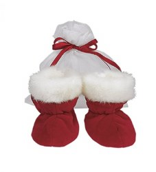N L - Booties - Baby Santa