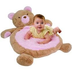 Bestever - Baby Mat - Pink Bear