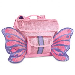 Bixbee - Flyer Small Backpack - Sparkalicious Butterfly Pink