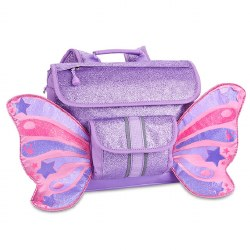 Bixbee - Flyer Small Backpack - Sparkalicious Butterfly Purple