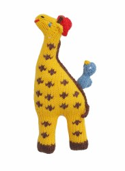 BlaBla - Animal Rattle Giraffe