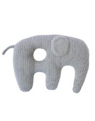 BlaBla - Jumbo Rattle Elephant Grey