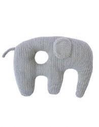 Bla Bla - Jumbo Rattle Elephant Grey