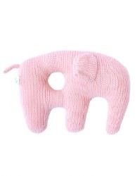 Bla Bla - Jumbo Rattle Elephant Pink