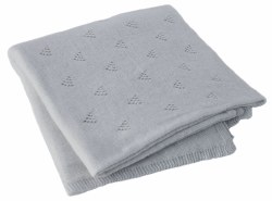 BlaBla - Little Triangle Blanket - Pebble
