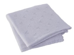 BlaBla - Little Triangle Blanket - Periwinkle