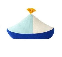 Bla Bla - Pillow Boat Blue