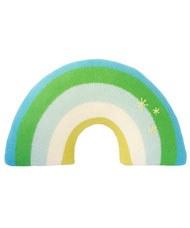 Bla Bla - Pillow Rainbow Blue