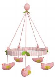 BlaBla - Mobile Bird Pink