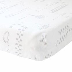 BlaBla - Fitted Sheet - Jardin Grey