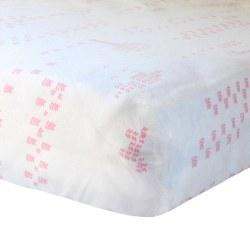 BlaBla - Fitted Sheet - Jardin Pink