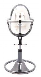 Bloom - Fresco Chrome High Chair Mercury/White *Floor Sample*