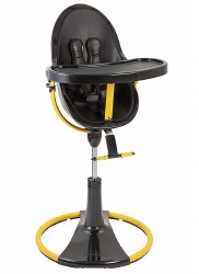 Bloom - Fresco Giro High Chair - Black/Yellow