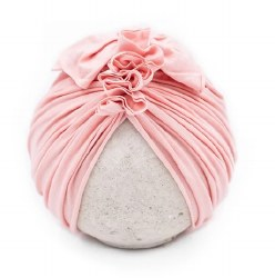 Blu Taylor - Vintage Head Wrap - Blush 6-18M