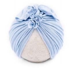 Blu Taylor - Vintage Head Wrap - Baby Blue 0-6M