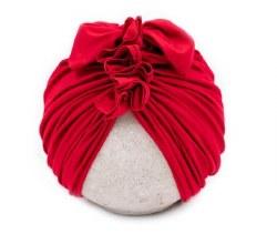 Blu Taylor - Vintage Head Wrap - Red 0-6M