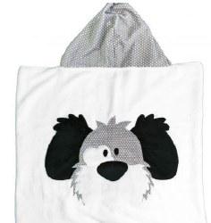 N L - Big Hooded Towel - Spot The Dog
