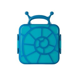 Boon - Bento Lunch Box Blue Snail