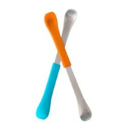Boon - Swap 2 in 1 Spoon Blue & Orange