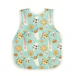 Bapronbaby - Toddler Bapron Waterproof Bib - Cookies & Milk