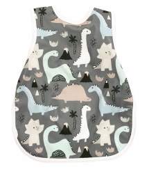 Bapronbaby - Toddler Bapron Waterproof Bib - Dinosaur Drawing