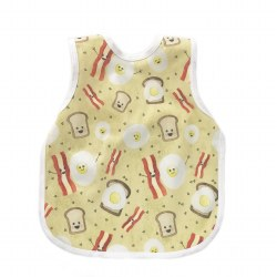 Bapronbaby - Toddler Bapron Waterproof Bib - Eggs & Bacon