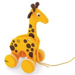 Brio - Pull Toy - Giraffe
