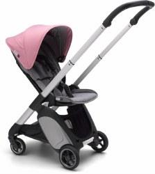 Bugaboo - Ant Complete Stroller Aluminum - Grey Melange - Pink Melange