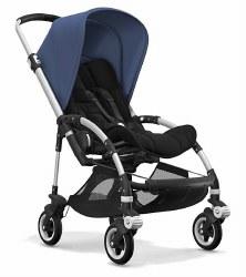 Bugaboo - Bee5 Complete Stroller - Aluminum /Black/Sky Blue