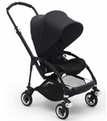 Bugaboo - Bee5 Complete Stroller - Black/Black/Black