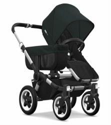 Bugaboo - Donkey2 Mono Configuration Stroller - Aluminum - Black - Black