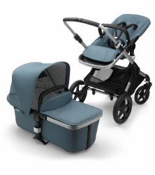 Bugaboo - Fox Complete Stroller Special Edition - Aluminum - Track