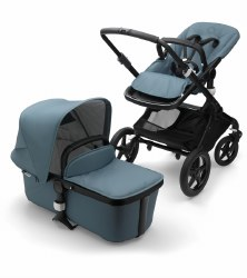 Bugaboo - Fox Complete Stroller Special Edition - Black - Track