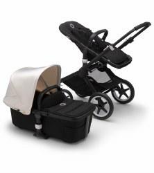 Bugaboo - Fox2 Complete Stroller - Black - Black - Fresh White *Pre-Order For August 2020*