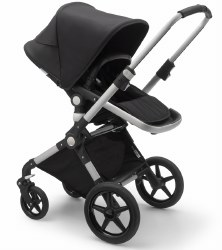 Bugaboo - Lynx Complete Stroller - Aluminum - Black - Black