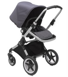 Bugaboo - Lynx Complete Stroller - Aluminum - Steel Blue - Steel Blue