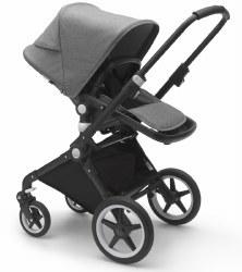 Bugaboo - Lynx Complete Stroller - Black - Grey Melange - Grey Melange