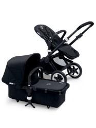 Bugaboo - Buffalo Stroller - Frame Black - Black Canopy
