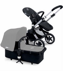 Bugaboo - Buffalo Frame with Foam Handle - Aluminium/Black