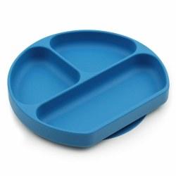Bumkins - Silicone Grip Dish - Dark Blue