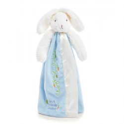 Bunnies By the Bay - Buddy Blanket Bunny Blue