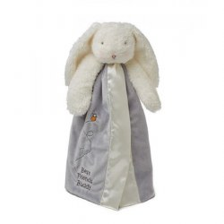 Bunnies By the Bay - Buddy Blanket Bunny Grey