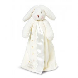 Bunnies By the Bay - Buddy Blanket Bunny White