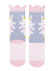 N L - Midi Socks - Fairy Bunny 12-24M