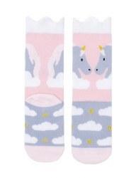 N L - Midi Socks - Unicorn 12-24M