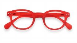 Izipizi - Junior Screen Protective Glasses #C - Crystal Red