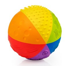 Rubber Toys - Sensory Ball Rainbow 4""