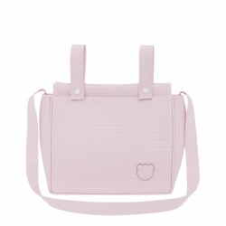 Cambrass - Gofre Pram Diaper Bag - Pink