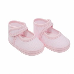 Cambrass - Baby Shoes with Strap Pink 16